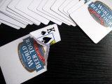 Tarjetas que juegan de papel del viaje de la cerveza del mundo con insignia/las tarjetas del póker