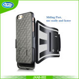 Para Galaxy S8 Edge Armband Easy Fitting Sport Running Brawange com Premium Flexible Case Combo para Samsung Galaxy S8 Edge Black