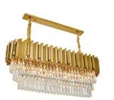 Illuminazione a cristallo del lampadario a bracci della decorazione di progetto dell'hotel (KAP17-005)