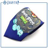Design de mode Impression de dessins colorés colorés brillants Custom Necktie