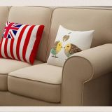 Sofá americano da tela do estilo de país para o uso Home (M3003)