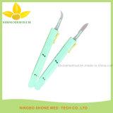 10#-25#ハンドルが付いている使い捨て可能なステンレス鋼の外科刃