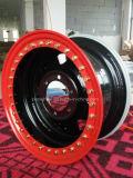 Двойной бортовой размер 15X8 Beadlock, PCD6-139.7, CB110, стальная оправа колеса Et-30
