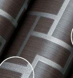 Papier peint lavable de PVC de type chinois de prix usine de GBL