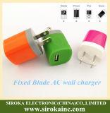 Van uitstekende kwaliteit ons Output van de Lader van de Muur USB van de Stop de Enige 1A voor iPhone iPad