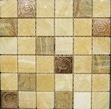 300 * 300 mm Mosaico de piedra para la construcción de viviendas Material de pared (FYSM092)