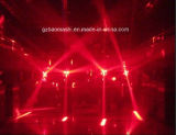 12PCS RGBW 4in1 LED Cosmopix 이동하는 맨 위 빛 또는 축구 효력 빛