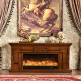 セリウムは承認した現代木TVの立場のヒーターの電気暖炉(342S)を