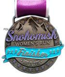 La médaille personnalisée de souvenir pour le passage des femmes, module de finition, Antique plaqué