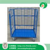 Carrello d'acciaio pieghevole della gabbia per approvazione del Ce di Wih del trasporto