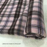 Existencias dobles de la tela de las lanas de la verificación de la cara