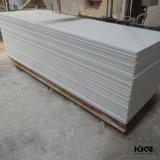 Superficie solida acrilica di pietra artificiale bianca pura per la parte superiore di vanità del controsoffitto