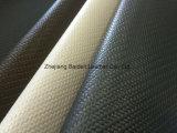 Geprägtes Bambusmuster Belüftung-PU-Leder für Beutel/Sofa/Kissen-/Möbel-Polsterung