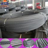 fil d'acier du PC 1670MPa spiralé de 5.0mm