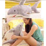 Juguete de la felpa del tiburón del animal de mar