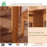 건장한 목제 프레임 나무로 되는 현대 식탁 의자