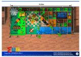 Attraktiver Dschungel-themenorientiertes Innenspielplatz-Gerät