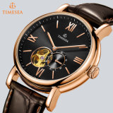 Luxury Leather Waterproof business Automatic Watch for one 72643