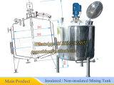 Réservoirs de mélange en acier inoxydable 1t