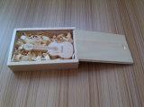 승진 선물 바이올린 모양 목제 고속 플래시 메모리 USB 2.0