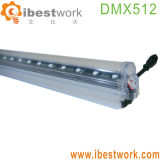 Éclairage linéaire de musique d'éclairage de construction de tube de DMX DEL Digital