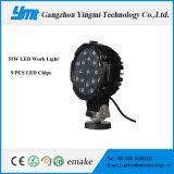 Accesorios de piezas de automóviles Luz de trabajo LED 51W para camión