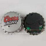 Divisas que contellean del casquillo LED de la botella de cerveza con insignia impresas (3569)