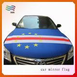 Cubierta de encargo del capo motor del coche de la insignia con la tela respetuosa del medio ambiente del Spandex
