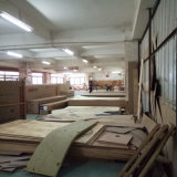 Base di cuoio di Tatami di stile moderno per la mobilia Fb3073 del salone
