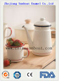 mercadorias de esmalte da cozinha do agregado familiar 6PCS