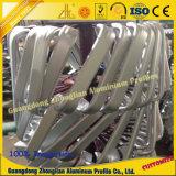 Profilo di alluminio dell'espulsione con elaborare profondo di CNC