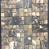 Mattonelle di pietra naturali con le mattonelle di pavimento di superficie del mosaico del Matt