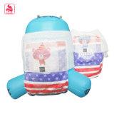 Pañal más barato respirable del bebé de la humedad del bloqueo de la alta calidad