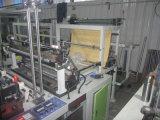 Línea de la capa dos de Gfq dos que suelda el bolso del corte en caliente frío que hace la máquina