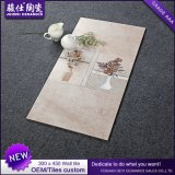 Weinlese-Badezimmer Foshan-300*450 deckt Porzellan-Wand-Fliese mit Ziegeln