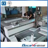 5.5kw 물에 의하여 냉각되는 스핀들 또는 진공 흡착 플래트홈 조각 기계 CNC 대패