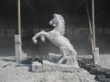 Natürlicher Granit/Marmor geschnitzte Steinabbildung/Tierstatue/Skulptur für Garten/im Freiendekoration