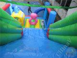 La selva inflable seca la diapositiva para el partido de los niños, diapositiva inflable de China