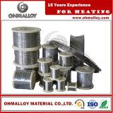 Стабилизированный провод Ohmalloy109 Nicr80/20 резистивности Ni80chrome20 для нагревающего элемента