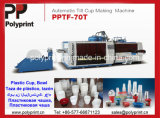 Automatische pp., PS, Petplastic Cup Thermoforming Maschine (PPTF-70T)