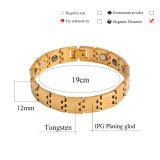 Form-Wolframstahl-Armband für Männer mit Gesundheits-Element (10018)