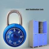 Mini serratura di combinazione applicata al sacchetto, ai bagagli ed al Governo di ginnastica