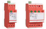 Überspannungsableiter-Beleuchtung-Stromstoss-schützende Einheit SPD-4pole 3phase modularer