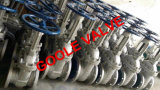 150lb/300lb/600lb鋳造物鋼鉄はゲート弁(GAZ40W)フランジを付けたようになった端の