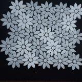 La última Deisgn flor Waterjet del mármol del mosaico de 2017 para el suelo