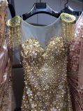 Vestido do baile de finalistas da noite da sereia do estilo da venda superior o melhor