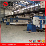 Machine automatique de filtre-presse de membrane pour le produit chimique