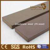 Prancha de madeira do Decking do pátio plástico de madeira do composto WPC