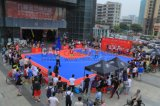 Nicecourt im Freien und InnenBasketballplatz-Bodenbelag, entfernbarer Basketballplatz-Fußboden