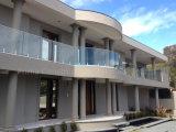 Inferriata di vetro di disegno moderno per il balcone con vetro Tempered